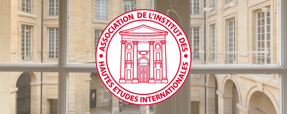 Visuel du logo de l'association de l'Institut des hautes études internationales