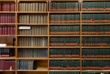 Photo de rayonnage de bibliothèque